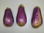 Frankliniella occidentalis damage on aubergines